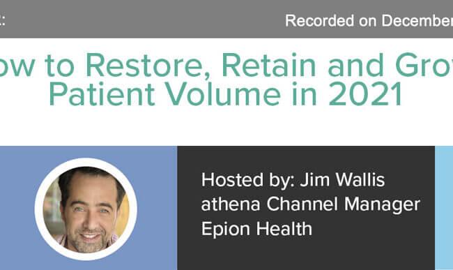 restore patient volume
